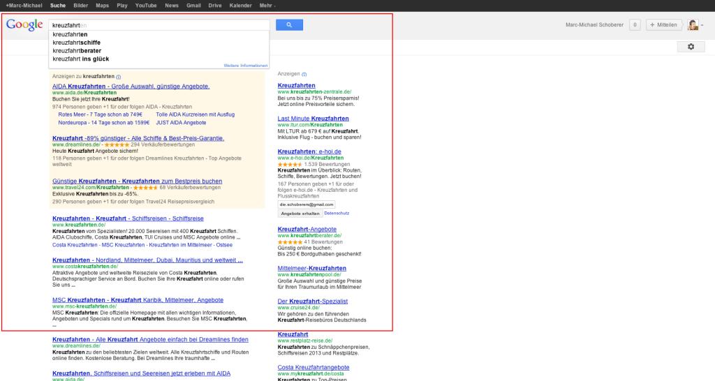 kreuzfahrten - Google-Suche
