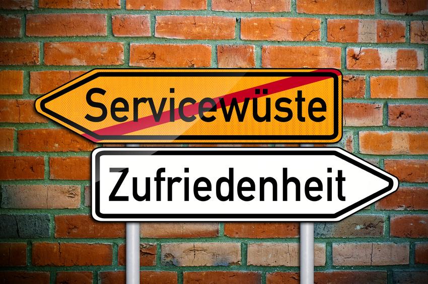 Wodurch sich guter Service auszeichnet