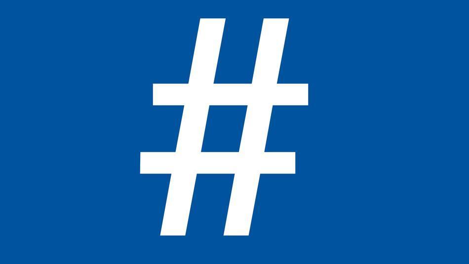 Hashtags nun auch bei FB