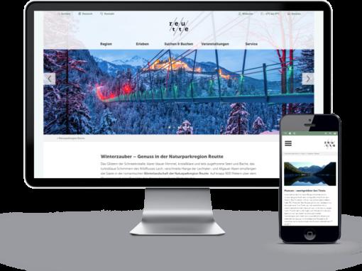 Naturparkregion Reutte – Websites & Onlinemarketing