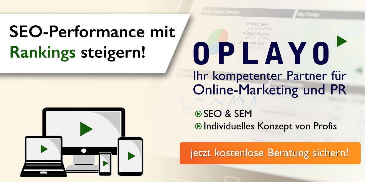 SEO Online Hilfe von Oplayo