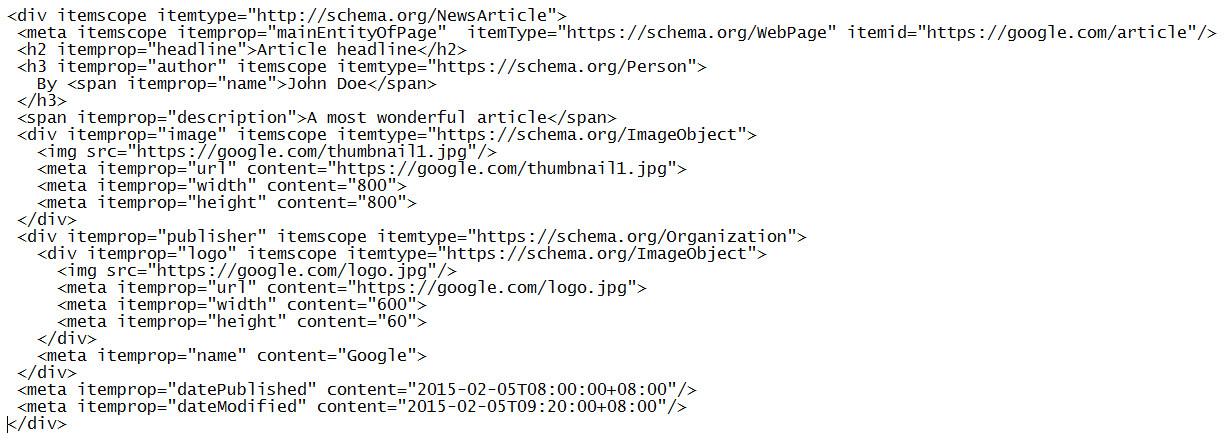 strukturierte-Daten-Code