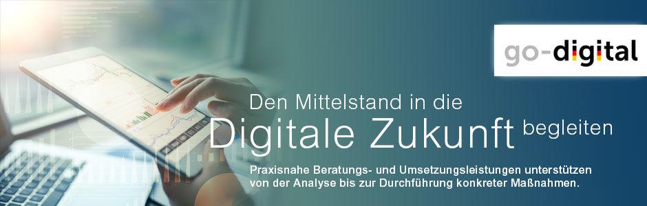 Go digital! Nutzen Sie unsere Expertise mit dem Förderprogramm des BMWi